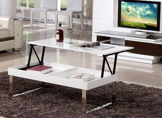 Lift Top Coffee Table Gloss White Finish Md14f28 1612 238 00 Online Ping China Furniture Whole Best Price And