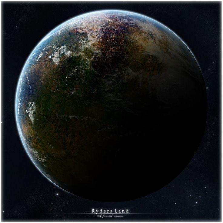 Ryders Land - Planet resource by Mr-Frenzy.deviantart.com on @DeviantArt