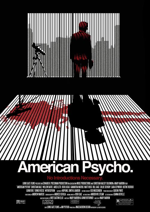 American Psycho viaryanmaceachern