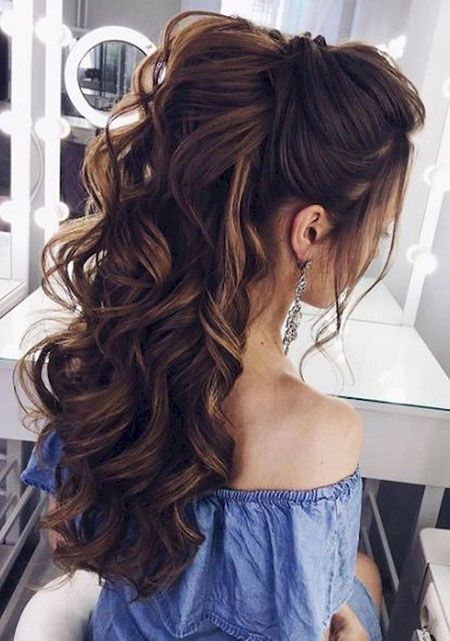 Hairtyles for A Wedding On #Up Style #Hair Style #Drides Maids #Brides Maid #Low…