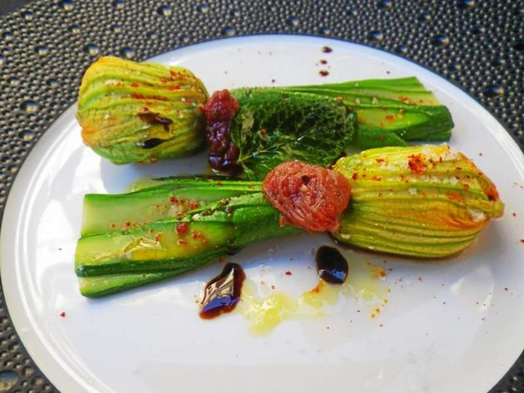 New InterContinental Marseille-Hotel Dieu carved from ancient building: Stuffed zucchini blossoms are an example of the fresh in-season ingredients used at the hotel's restaurants.