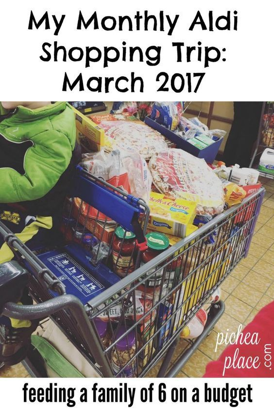 My Monthly Aldi Shopping Trip: March 2017 – Doe