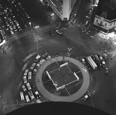 Metamorfoses Urbanas: Avenida Afonso Pena ~ Curral del Rey - Praça sete de setembro em 1966, após a retirada do obelisco.