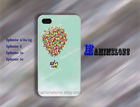 Up iphone 5s case UP iphone 4 case balloon iphone by hamimelons, $7.99