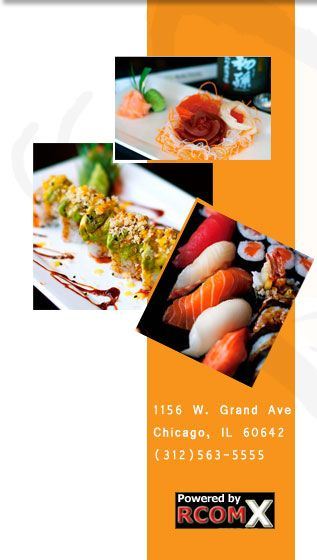 Butterfly Sushi (pan Asian). 3 locations. Byob. Don't try to eat in at the Grand location. The acoustics are strange.