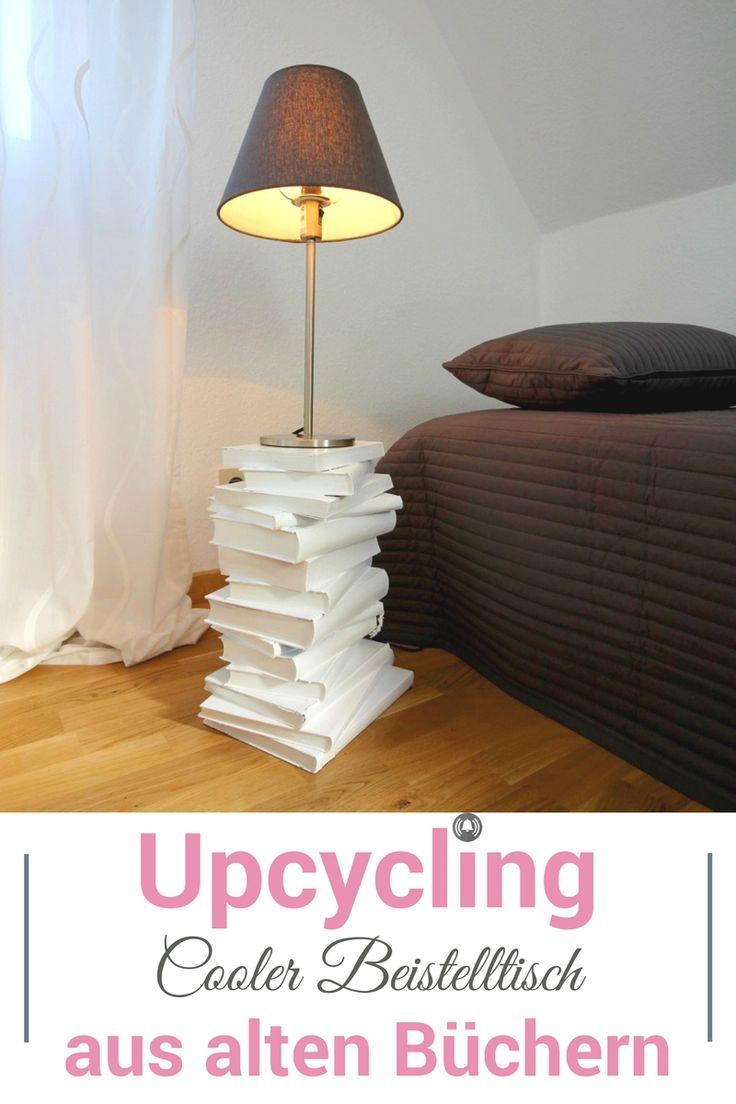 Das ultimative Upcycling DIY! Mach dir deinen coolen und preisgünstigen Beistelltisch doch selber - aus alten Büchern. Wir zeigen dir im Video Schritt für Schritt, wie es geht. Dafür haben wir zwei verschieden Tische gemacht. Auch toll als Geschenk zum Einzug oder Umzug für Freunde und Bekannte.