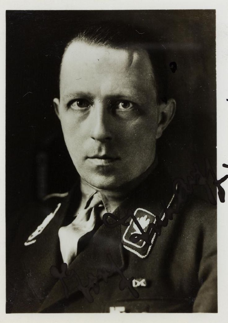 WOLF-HEINRICH GRAF VON HELLDORFF  (1896-1944) Member of the Prussian Parliament and president of police for Potsdam and Germany, later executed for his role in the von Stauffenberg plot to assassinate Hitler