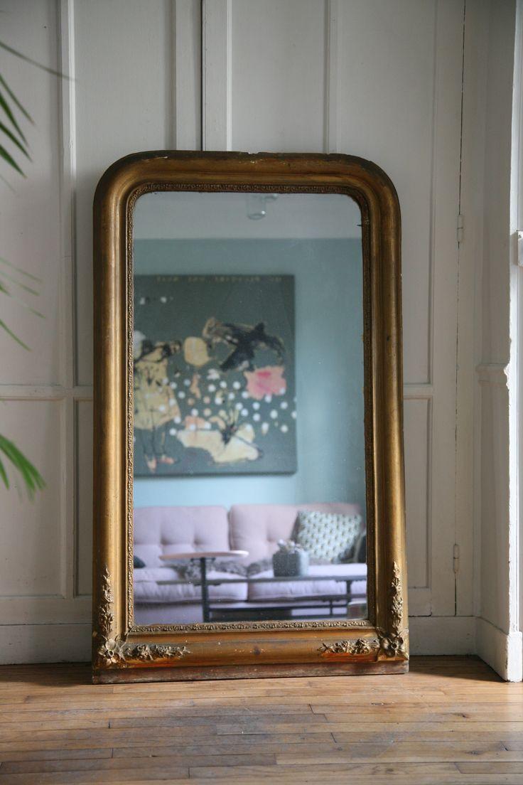 Miroir ancien # MadameLaBroc.com
