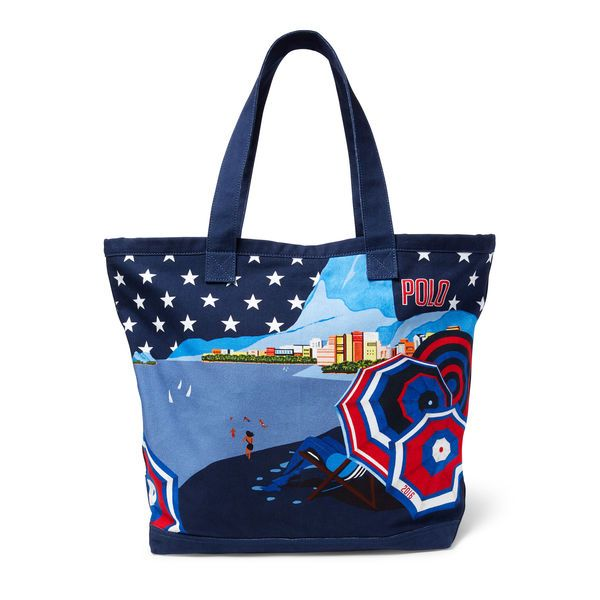 Team USA Polo Ralph Lauren 2016 Olympics Poster Tote - Navy - $187.99