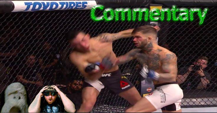 UFC Fight Night 88 Cody Garbrandt vs Thomas Almeida Full Fight Commentar...