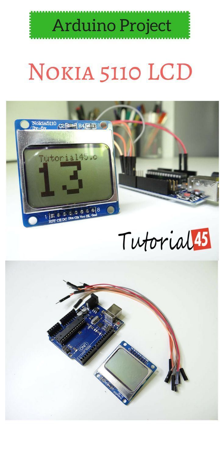 Arduino count up timer using the Nokia 5110 LCD | Arduino Projects
