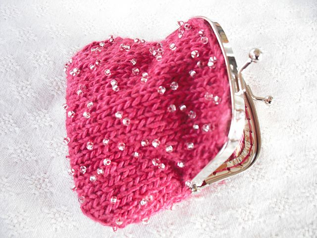 Ravelry: Grace Beaded Coin Purse pattern by Agrarian Artisan