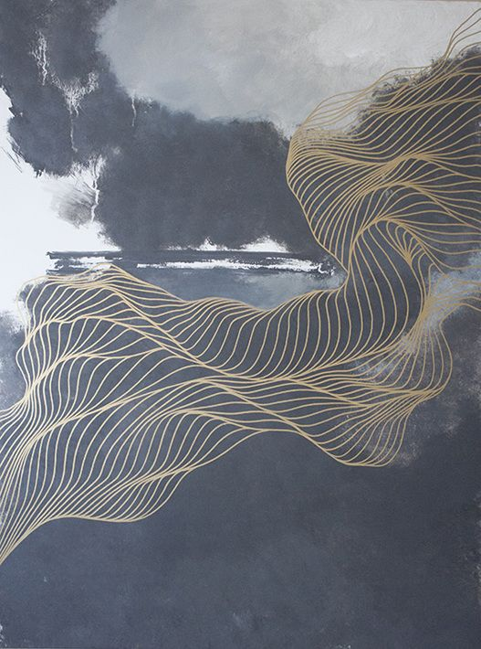 The Long Way Back Home Tracie Cheng Art Abstract Art
