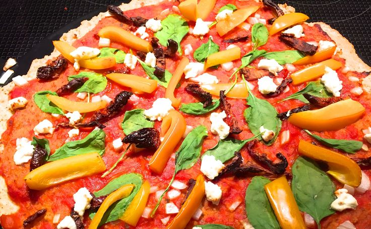 Gluten Free Pizza Crust (almonds and chickpea flour) - Joyous Health
