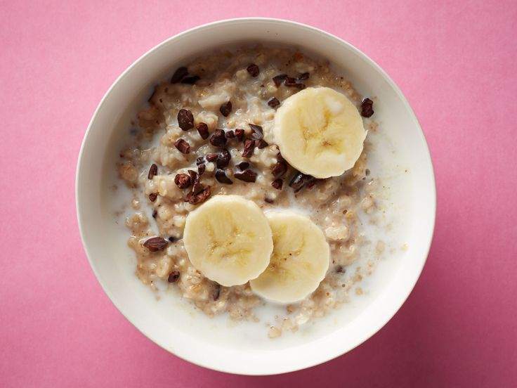 Superfood Breakfasts : Stir 1 tablespoon cacao nibs, 1 tablespoon almond butter and 1 tablespoon honey into a serving of prepared steel-cut oats. Top with milk and banana slices.