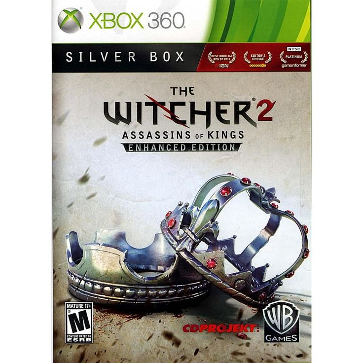 Microsoft Witcher 2 Assassins of Kings Silver Edition - Xbox 360