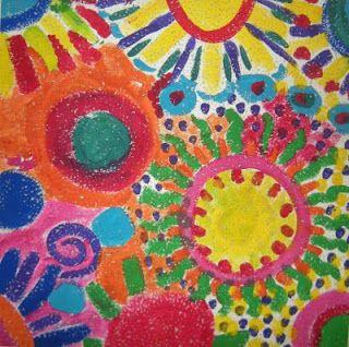 Mejores 15 im genes de ceiling tile art project en - Pintura de baldosas ...