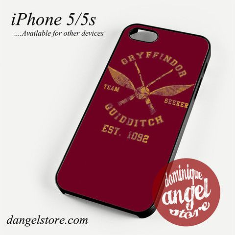gryffindor-quidditch-seeker Phone case for iPhone 4/4s/5/5c/5s/6/6 plus