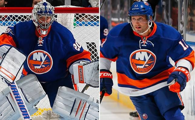 Goaltender Evgeni Nabokov and defenseman Lubomir Visnovsky have been taken off of IR 1.27.14