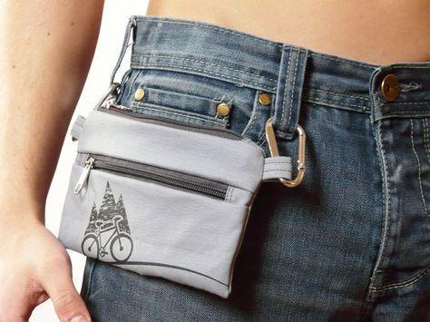 Sac banane Mens portefeuille vélo Cyclisme unisexe de par skbag