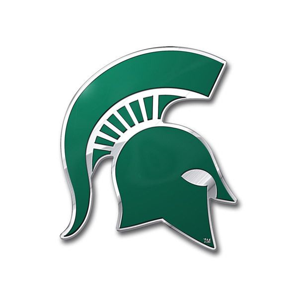 Michigan State Spartans Auto Emblem - Color Z157-8162063336