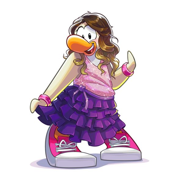 Focused on the Magic | Disney Club Penguin - Violetta