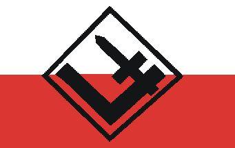 [National Rebirth of Poland flag]