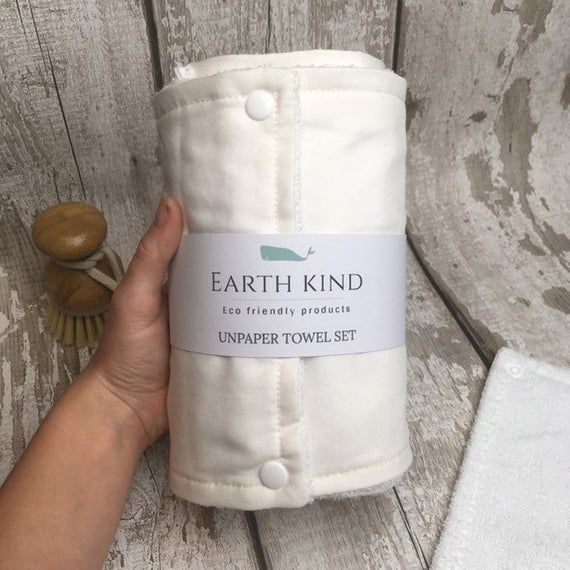 Unpaper Towels Reusable Kitchen Roll Washable Wipes Zero Waste Cloth Paper Towels Eco Friendly Cott In 2020 Reusable Paper Towels Cloth Paper Towels Kitchen Roll