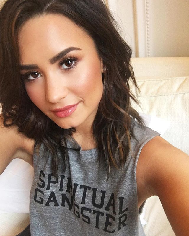 Spiritual gangster motherfuckers Demi Lovato