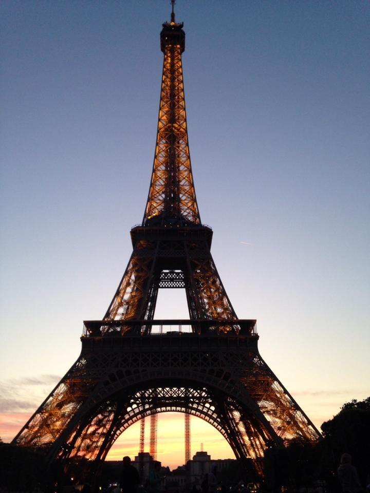 Eiffel at Night.