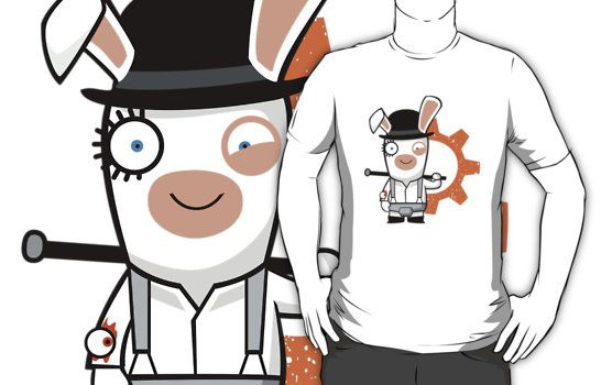 Alex the Rabbid Droog - by KingsandQueens - sale on Red Bubble
