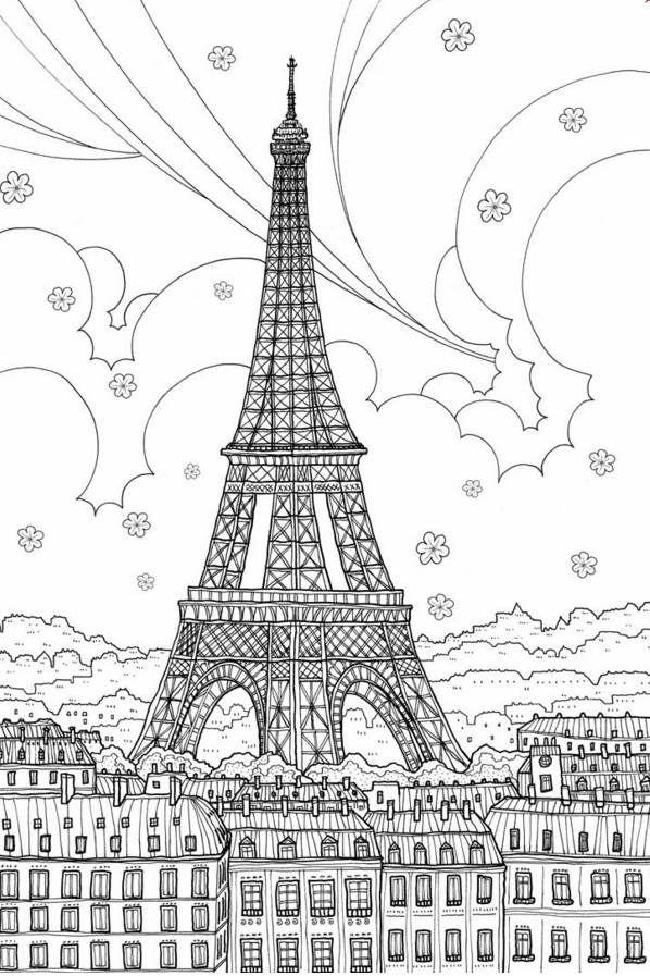Napsütötte Franciaország. Belelapoztunk az új, felnőtteknek készült színezőkönyvbe   Életszépítők