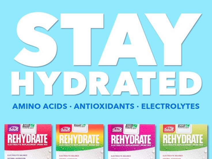 Rehydrate! One of my faves! https://www.advocare.com/160625247