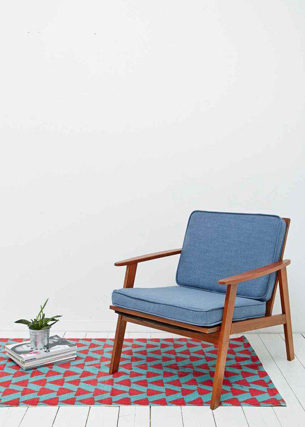 Des motifs géométriques colorés pour une allure années 70