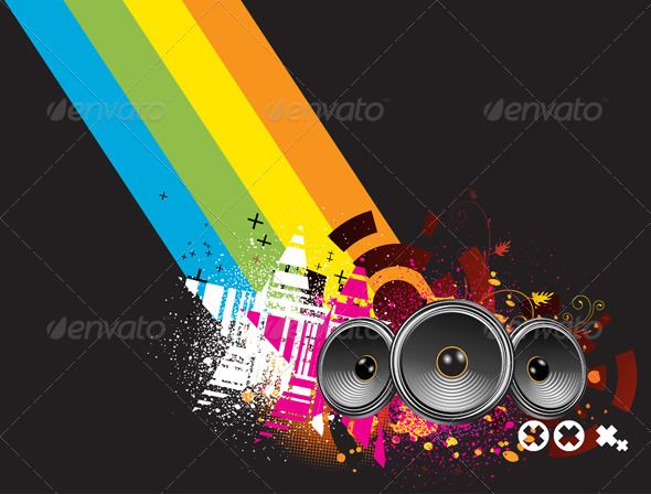 Abstract Party Background #GraphicRiver Vector illustration of grunge Background with an Explosion of Colors with music design elements. Zip file contains fully editable EPS8 vector file and high resolution RGB Jpeg image. Created: 14February13 GraphicsFilesIncluded: JPGImage #VectorEPS Layered: No MinimumAdobeCSVersion: CS Tags: abstract #art #audio #background #black #colored #dance #design #disco #element #flyer #fun #funky #graphic #grunge #illustration #modern #multi #music #nightclub…