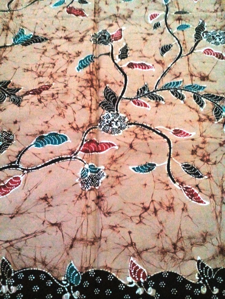 motif : pecah batu #Batik #Fabric