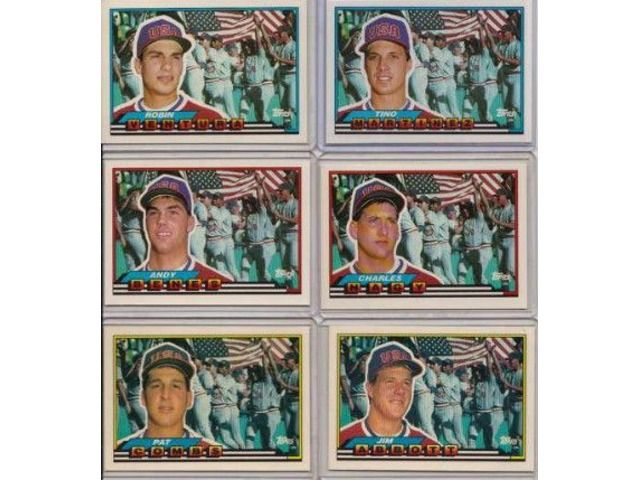 US 1988 Olympic Baseball (19) Team Members