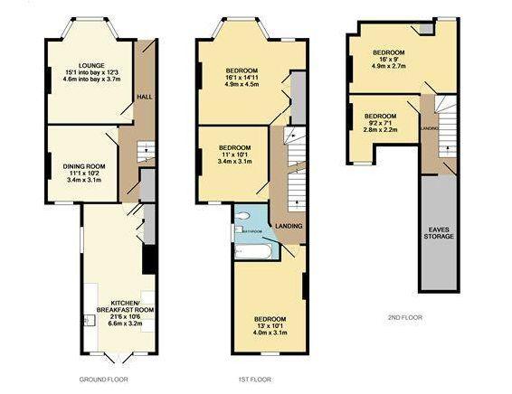 14 best floor plans terraces images on pinterest side for Victorian house plans uk