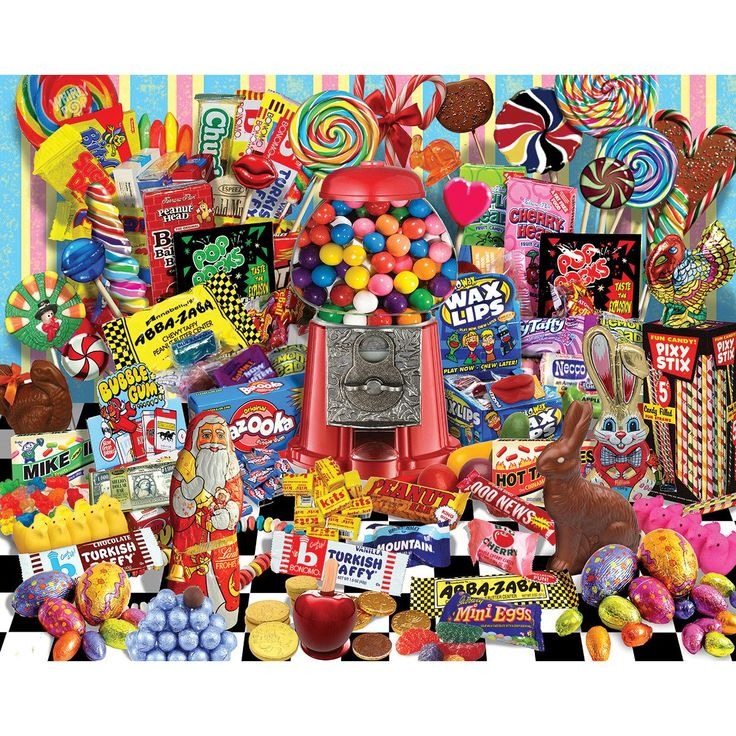 "Jigsaw Puzzle 1000 Pieces 24""""X30""""-Candy For All Seasons"