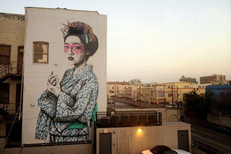 Fin DAC in LA - Best Street Art from March 2014 - Top 5