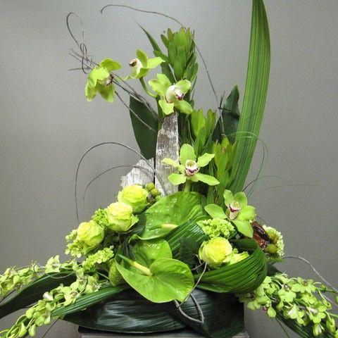 Funeral Casket Flower Spray 2004-1 Montreal Florist Abaca