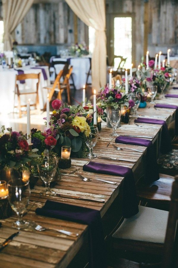 Jewel toned table decor | Photo by You Are My True