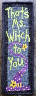 : Ms Witches, Quilts Patterns, Halloween Quilts, Minis Quilts, Crosses Stitches, Quilts Halloween, Small Quilts, Witches Quilts, Crafty Witches