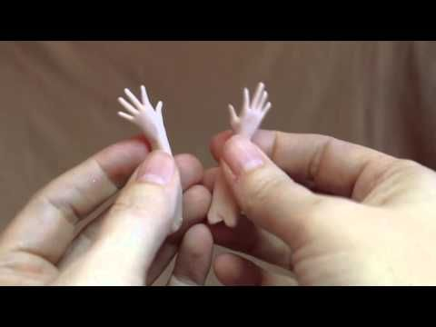 Tips on Sculpting Tiny Fairy Hands for your OOAK - MakingFairies.com & SculptUniversity.com - YouTube