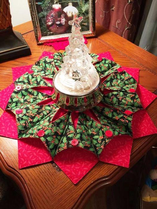 23 besten Fold & Stitch Wreaths Bilder auf Pinterest | Stoff kranz ...