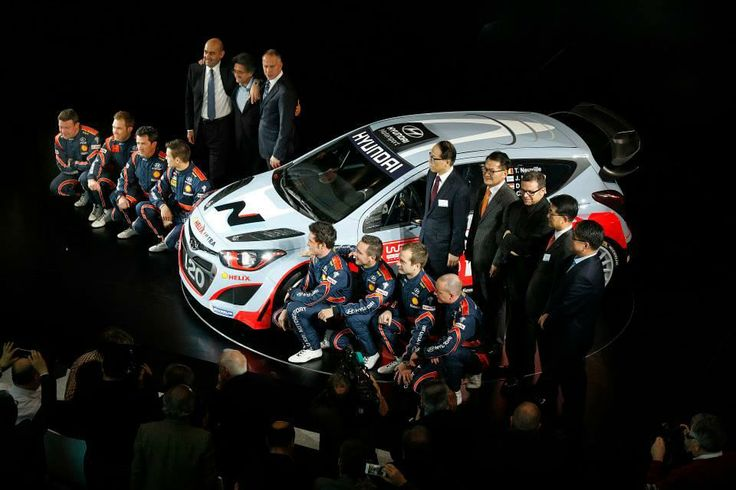 Great to be present to see Hyundai launch its new team to take on arguably motorsport's toughest challenge #WRC