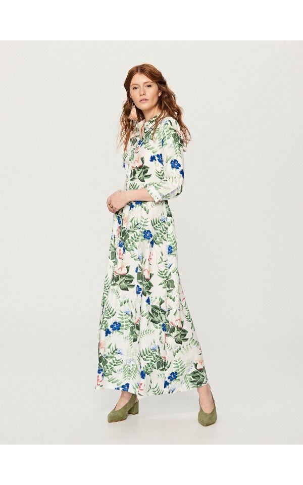LADIES` DRESS, New In, kremowy, RESERVED | Sukienki | Pinterest ...