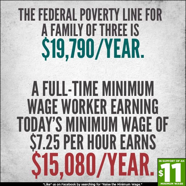 Um, WOW. Thanks to Raise The Minimum Wage for bringing this to our attention!