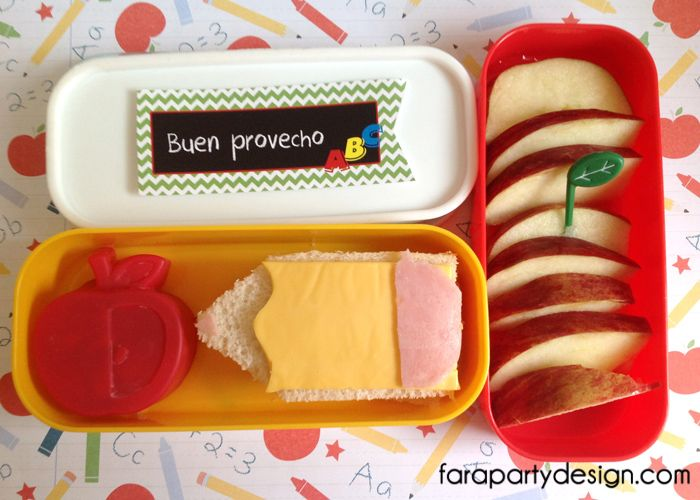 Fara Party Design-BacktoSchoolLUNCH