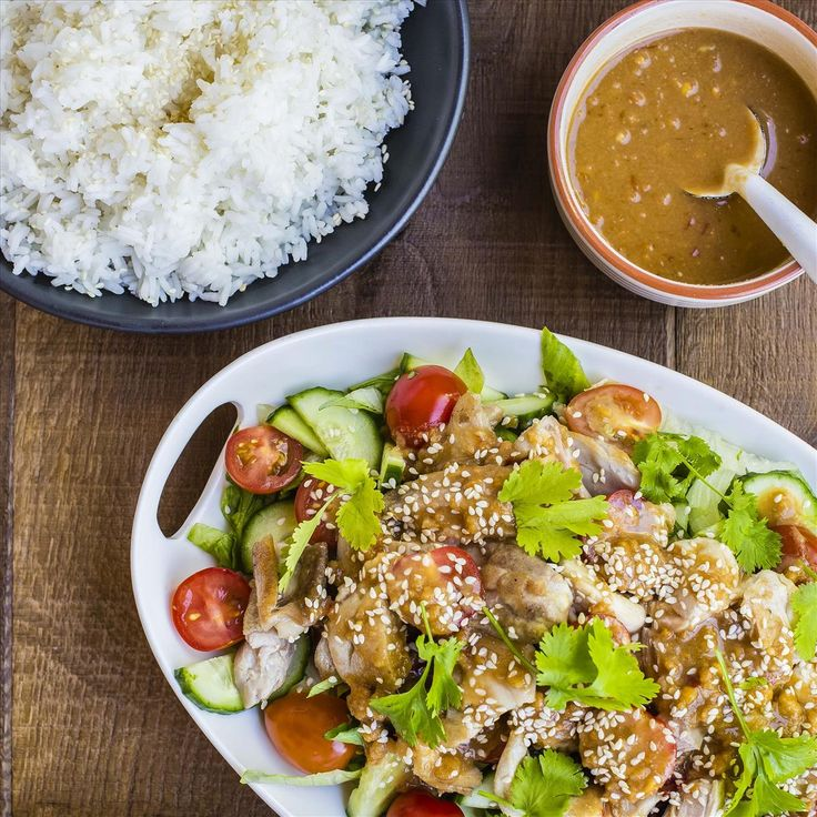 Bang Bang Chicken Salad With Rice